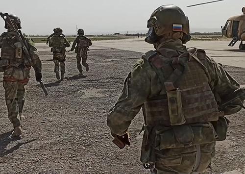 Группы спецназа России и Узбекистана провели диверсионные действия в тылу условного противника