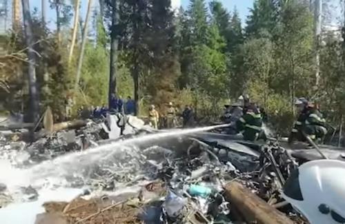 ТАСС: самолет Ил-112В упал в штопор перед крушением из-за несработавшей системы флюгирования