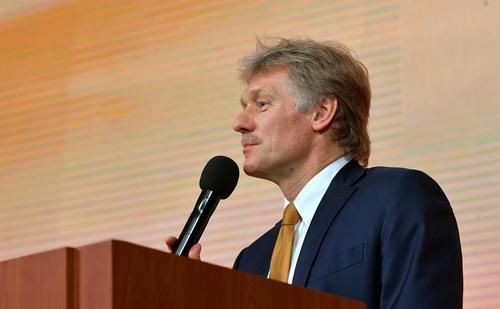 Песков заявил, что в Кремле «негативно» восприняли ситуацию с предвыборными плакатами с Калининградом в составе Германии