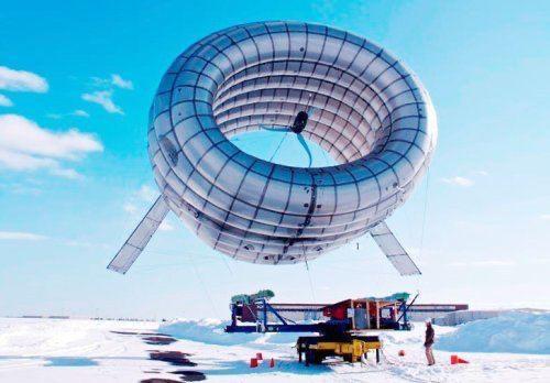 Первый в мире летающий ветрогенератор поднялся в небо над Аляской