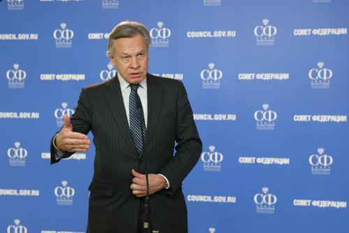 Сенатор Алексей Пушков считает, что США сегодня являются финансовым пузырём, и им грозит экономический кризис