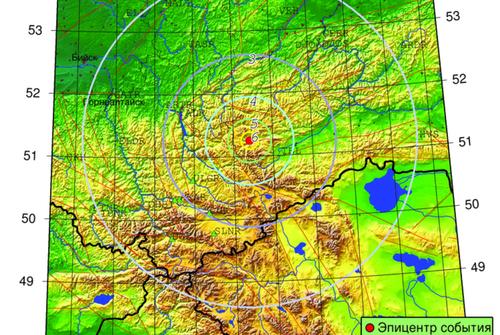 Землетрясение магнитудой 4,8 произошло в Туве