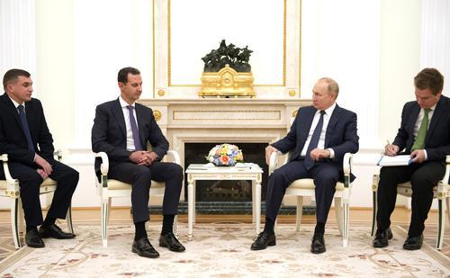 Песков раскрыл подробности встречи Путина и Асада