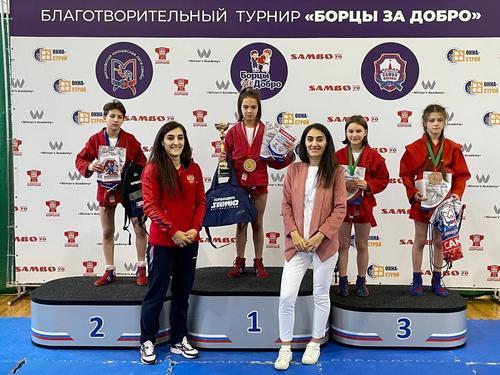 Организатор благотворительного турнира «Борцы за добро» Марианна Алиева: «Борцовская семья своих не бросает»