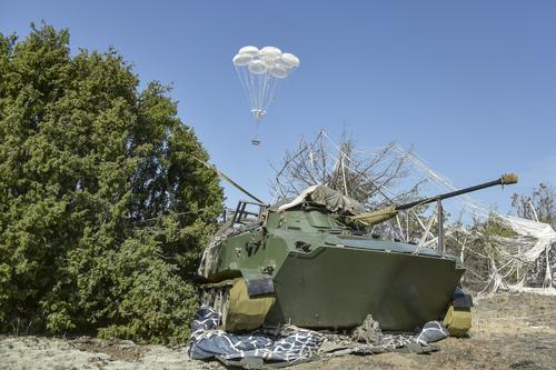 Под Брестом была проведена высадка совместного российско-белорусского тактического десанта