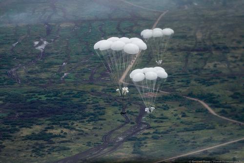В Калининградской области тактический воздушный десант уничтожил передовые отряды условного противника