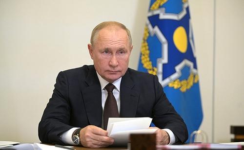 Путин сообщил, что в его окружении несколько десятков человек заболели COVID-19