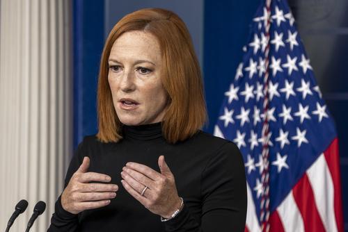 Пресс-секретарь Белого дома Псаки заявила, что Вашингтон не нацелен на конфликт с Китаем