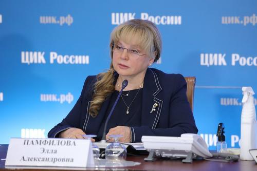 Памфилова сообщила о поступлении в ЦИК более сотни обращений по принуждению к голосованию