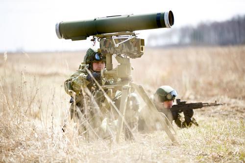 Российские БТГ на учениях в Южной Осетии применили ПТРК для борьбы с танками условного противника