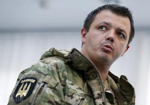 Ветераны Донбасса требуют от Зеленского освобождения своего командира Семёна Семенченко