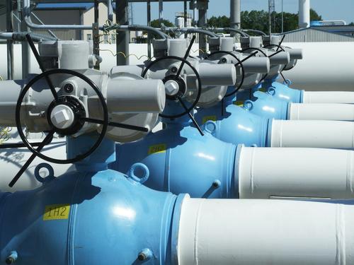 Цена газа в Европе увеличилась до 880 долларов за одну тысячу кубометров