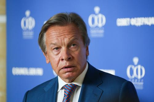 Пушков прокомментировал требование советника Госдепа Хохштейна поставлять газ из России в Европу через Украину