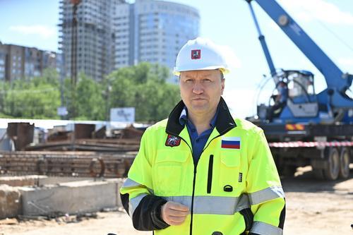 Андрей Бочкарев рассказал о строительстве жилья вблизи нового участка «красной» ветки метро