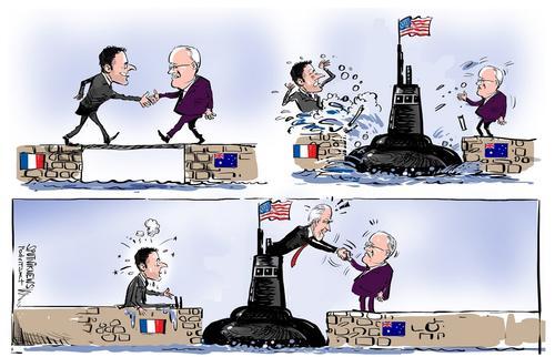 Франция не может заключить контракт ни с врагами США, ни с их союзниками
