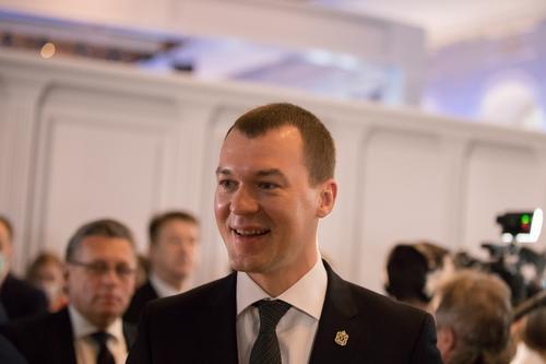 Михаил Дегтярев вступил в должность губернатора Хабаровского края