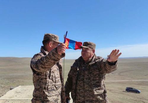 Совместная группа российских и монгольских офицеров провела рекогносцировку перед учениями «Селенга-2021»