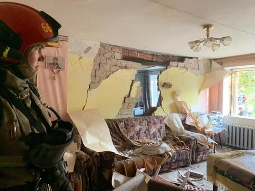В Свердловской области в многоквартирном жилом доме произошел взрыв газа