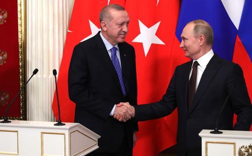 Песков рассказал, что Путин и Эрдоган на встрече обсудят ситуацию в Сирии