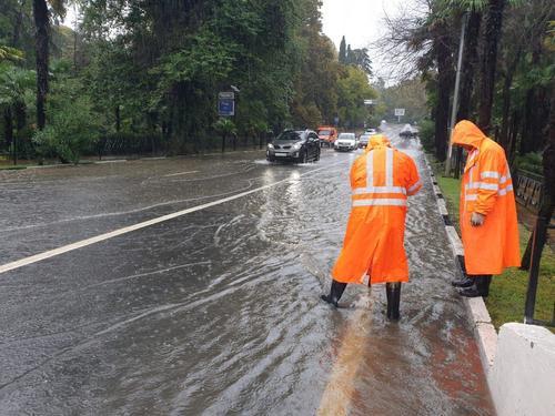 Мэр Сочи рассказал о восстановлении города после сильных дождей