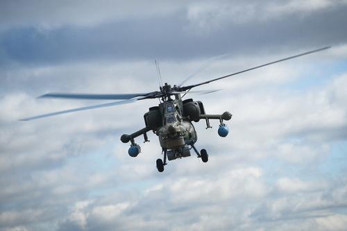 «Репортер»: российский вертолет смог уйти от обстрела турецким ракетным комплексом в Сирии
