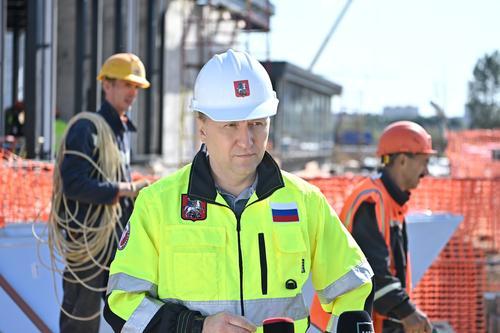 Андрей Бочкарёв: Восточный участок БКЛ метро построен почти наполовину