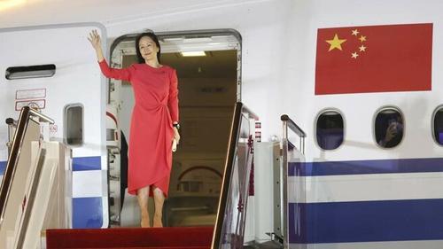 Выпущенную из тюрьмы Канады директора Huawei Мэн Ваньчжоу в Китае встречали с большим почетом