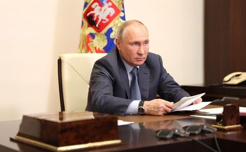 Путин заявил, что из Ирака и Сирии в Афганистан активно стягиваются террористы