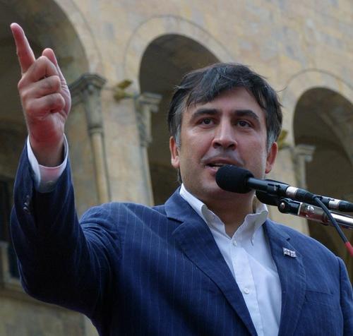 Сторонники Саакашвили собрались в центре Тбилиси