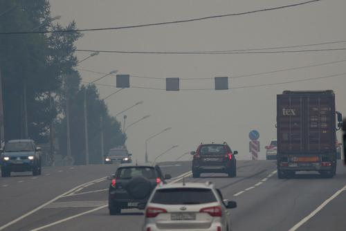 Федеральную трассу Екатеринбург — Курган перекрыли из-за смога