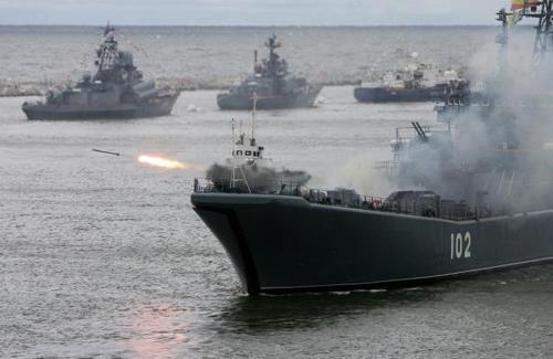 В Японском море начались совместные учения ВМФ России и ВМС Китая