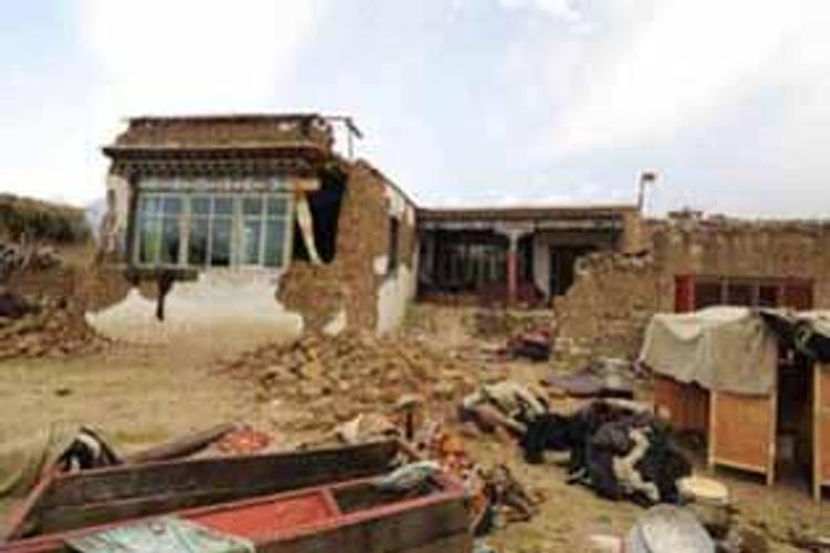 Тибет содрогнулся от землетрясения магнитудой 4,2