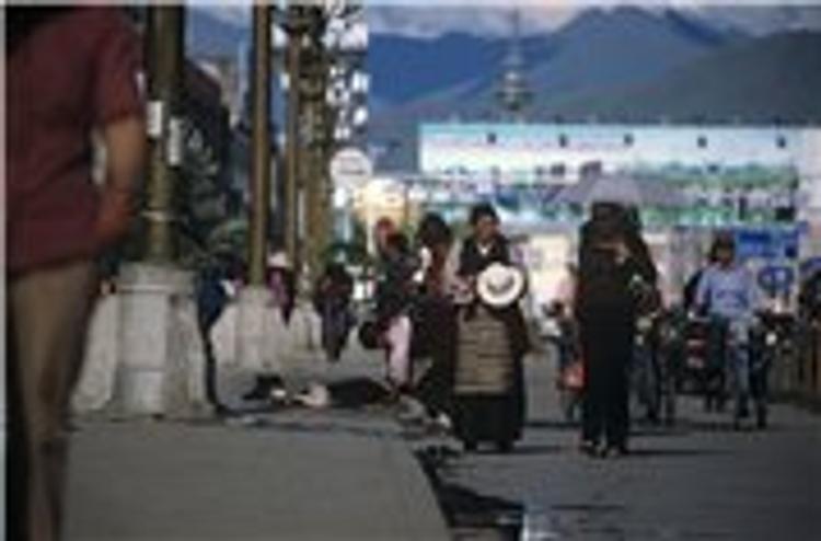 Древний тибетский город уничтожен в результате пожара