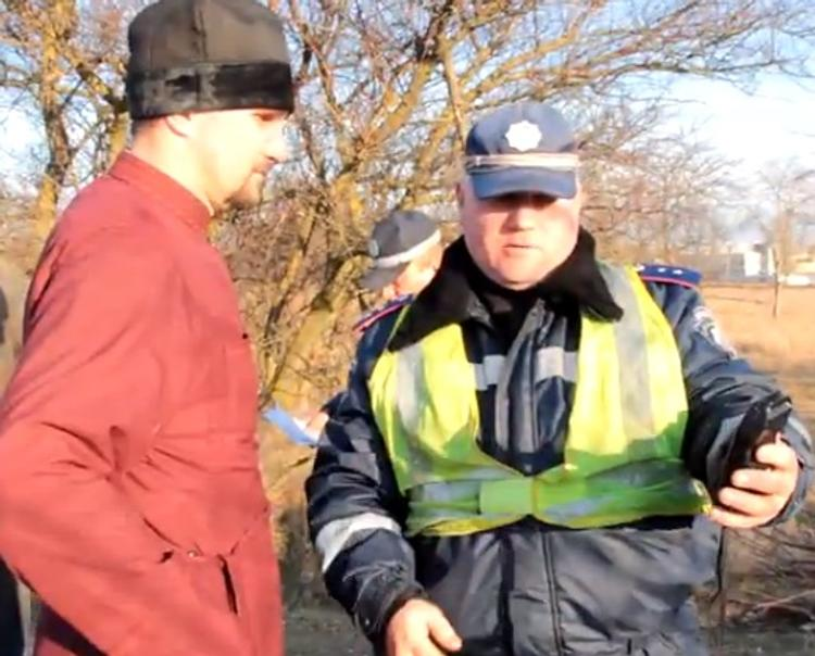 Российского священника задержали за пьяное вождение в Керчи (ВИДЕО)