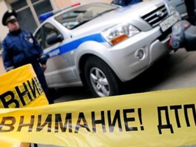 На Ленинградском шоссе Москвы пять машин попали в ДТП