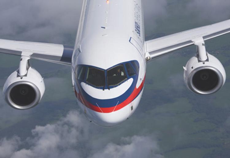 """Авиакомпания """"Якутия"""" перевезла на Sukhoi Superjet 100 более 54 тысяч пассажиров"""