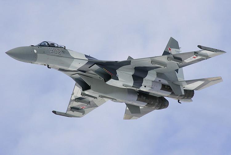 ВВС России получили 12 Су-35С