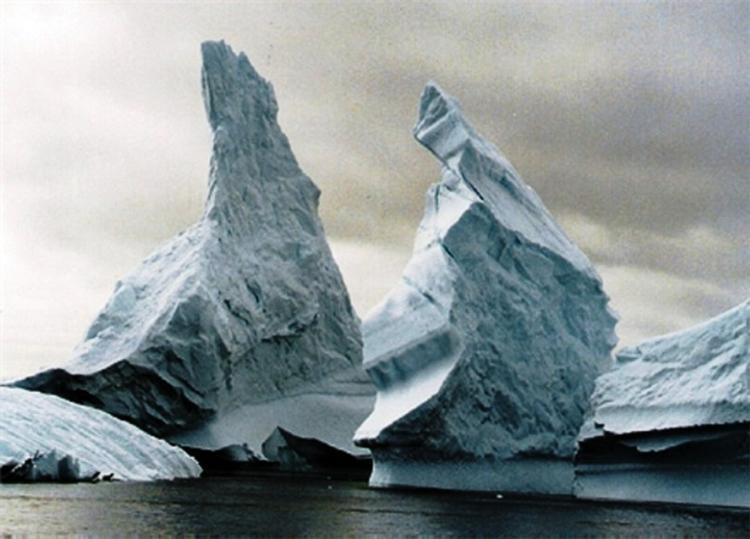 В Антарктиде терпит бедствие японский ледокол