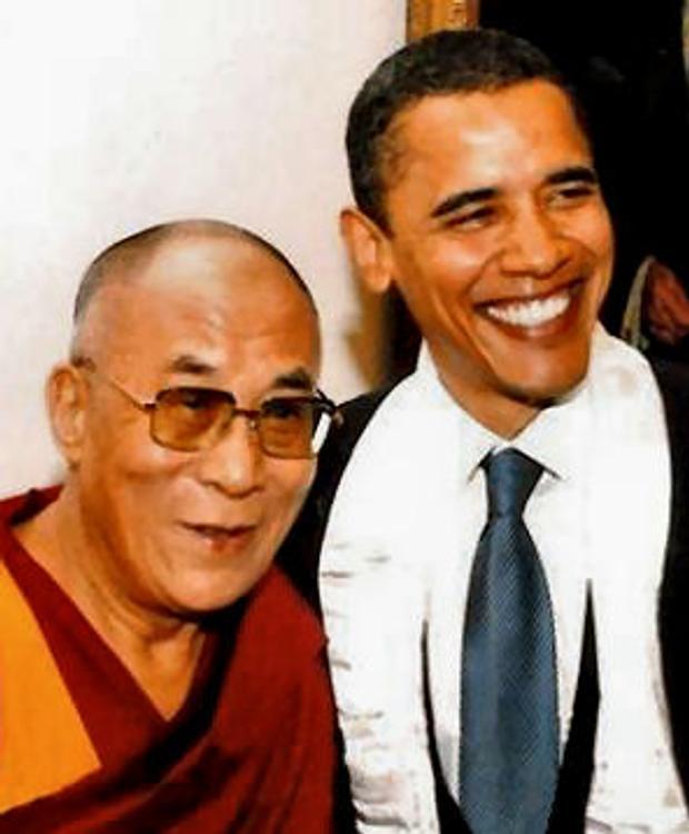 Китай против встречи Далай-ламы с Бараком Обамой