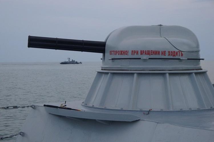 Каспийская флотилия готовится к выходу на оперативный простор (ФОТО)