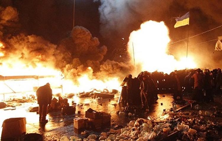 Задержаны подозреваемые в стрельбе на Майдане