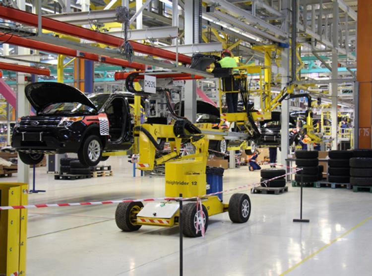 «Форд» во Всеволожске под Петербургом приостанавливает производство до 8 июня