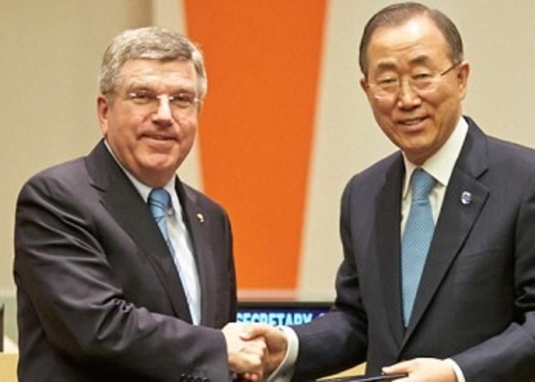 МОК и ООН подписали соглашение о сотрудничестве