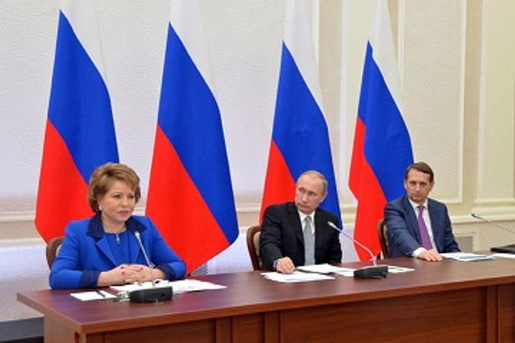 Президент России встретился с Советом законодателей РФ в Петрозаводске