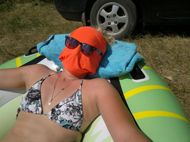 Солнечные ванны обладают наркотической притягательностью