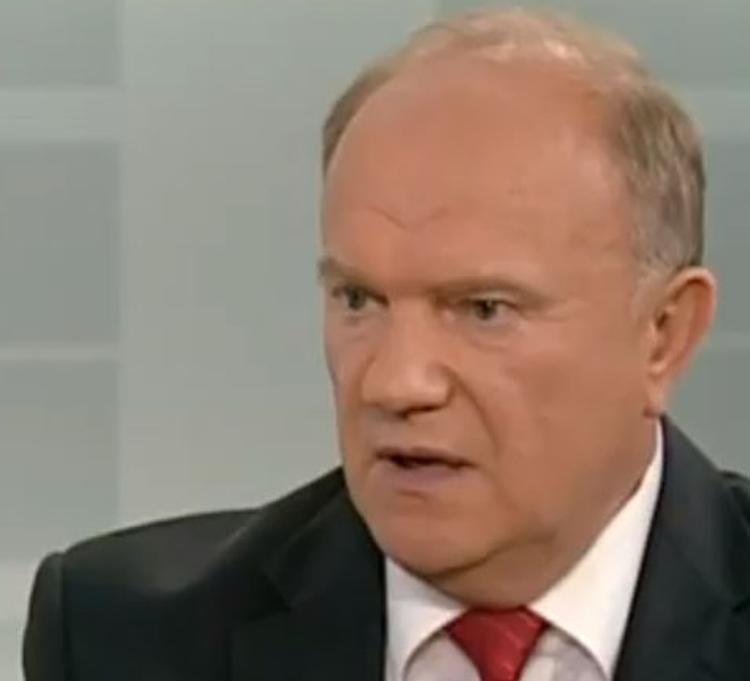 Лидер КПРФ Геннадий Зюганов отмечает юбилей