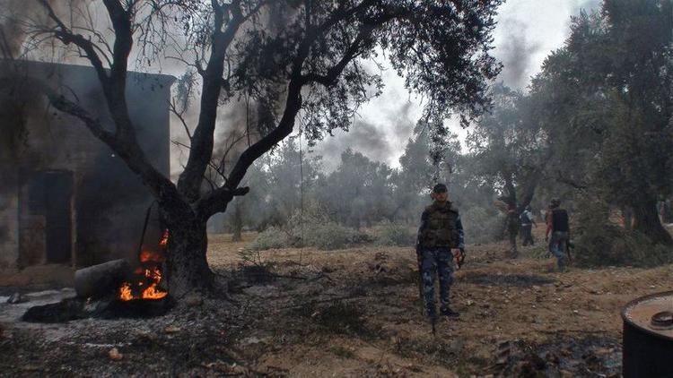 Украинская армия обстреляла Луганск из минометов