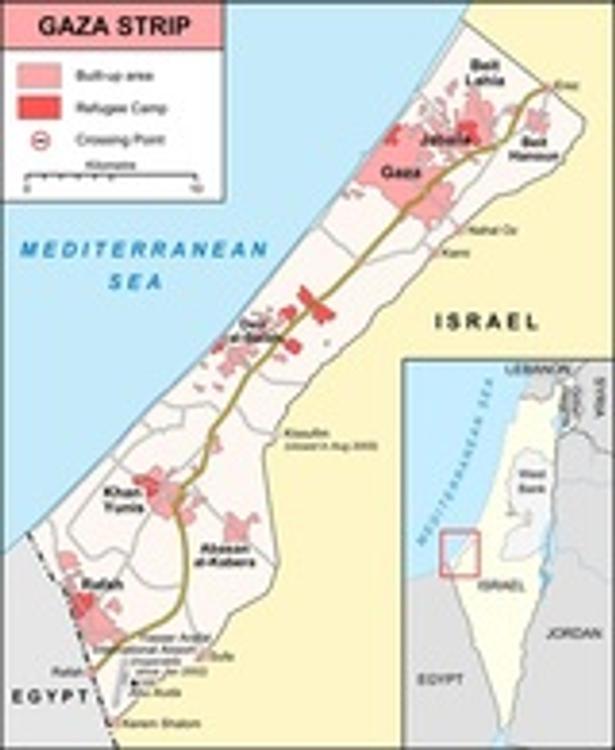 Совбез ООН призвал к немедленному прекращению огня в секторе Газа