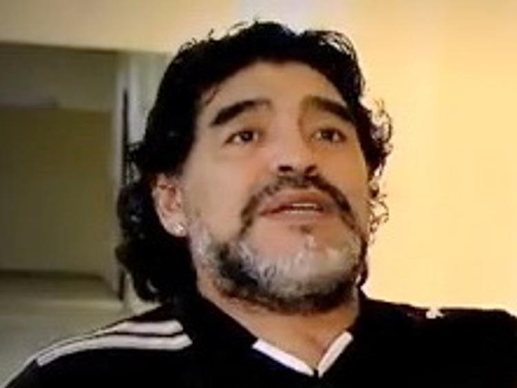 Диего Марадона попал в больницу