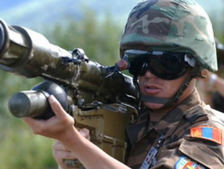 Россия проводит совместные военные учения с Монголией